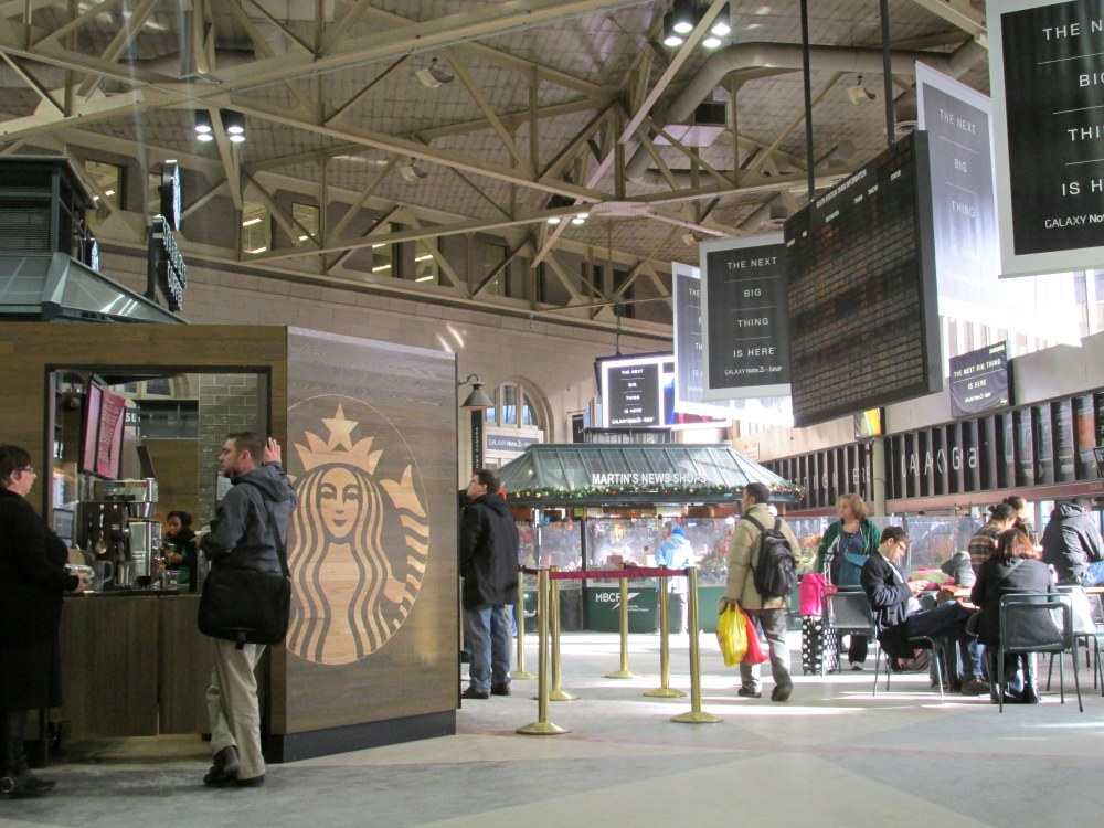 SouthStationwithStarbucksBoston30Dec2013
