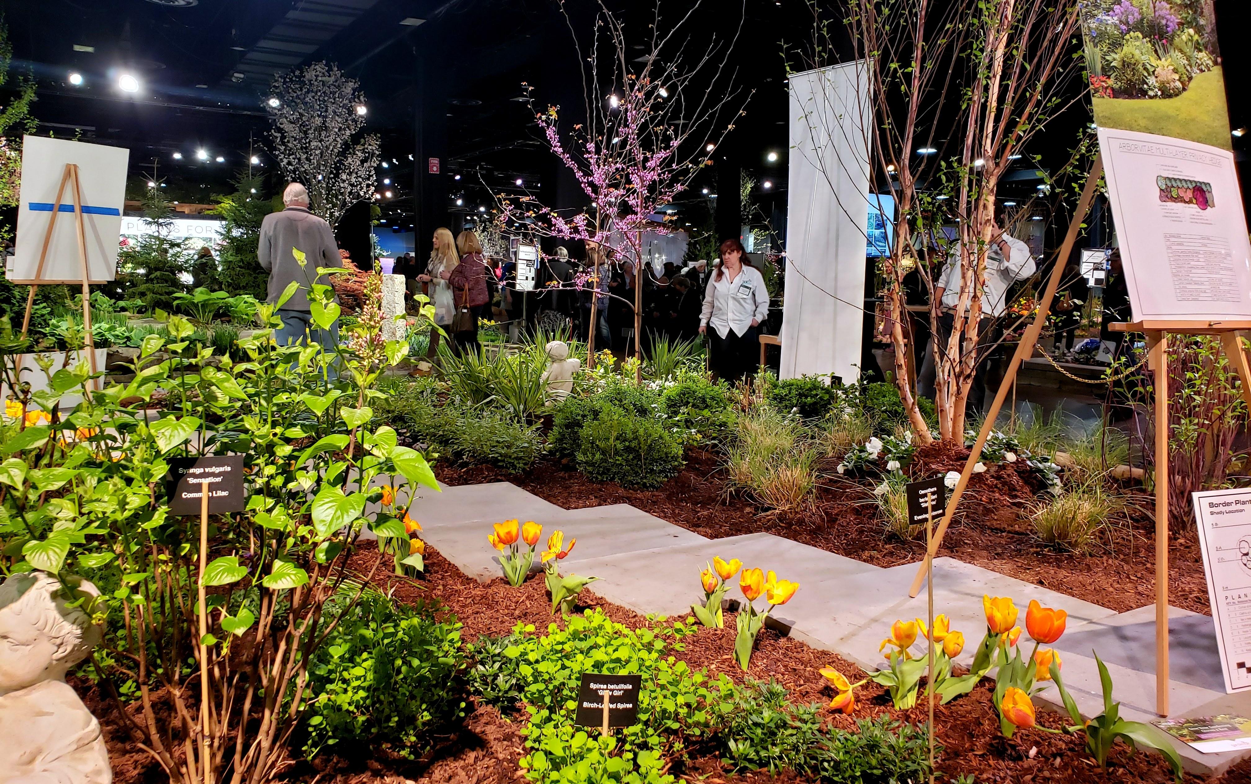 thursday 13: boston flower & garden show – a moveable garden